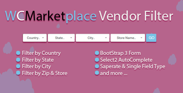 WC Marketplace Vendor Filter