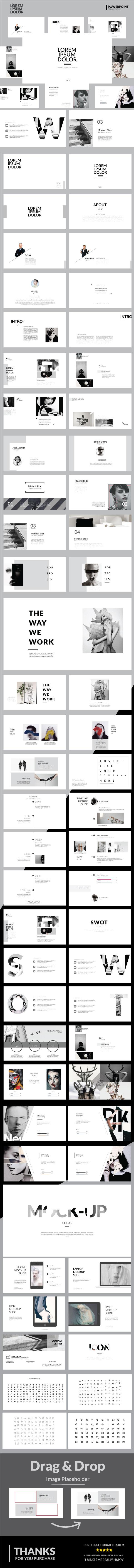 Lorem Ipsum Dolor - Multipurpose Powerpoint Template - Business PowerPoint Templates