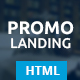 Promo - Multipurpose Landing Page - ThemeForest Item for Sale