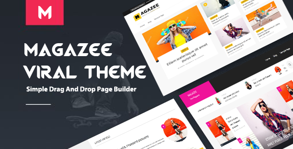 Magazee – Chic & Hot Responsive Magazine WordPress Theme
