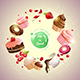 Dessert Sweets - GraphicRiver Item for Sale