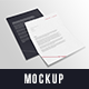 Letter A4 Mockup - GraphicRiver Item for Sale