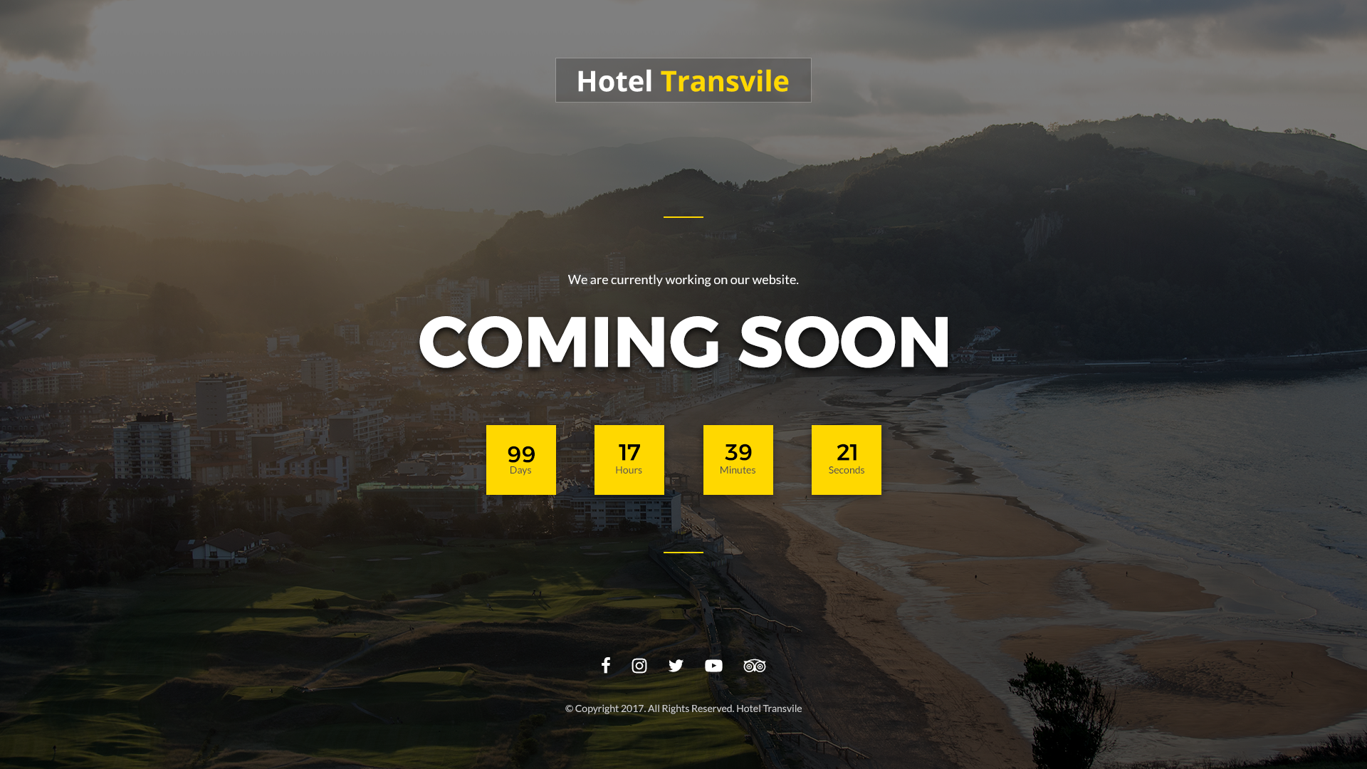 Transvile Hotel PSD Template by sandystha | ThemeForest