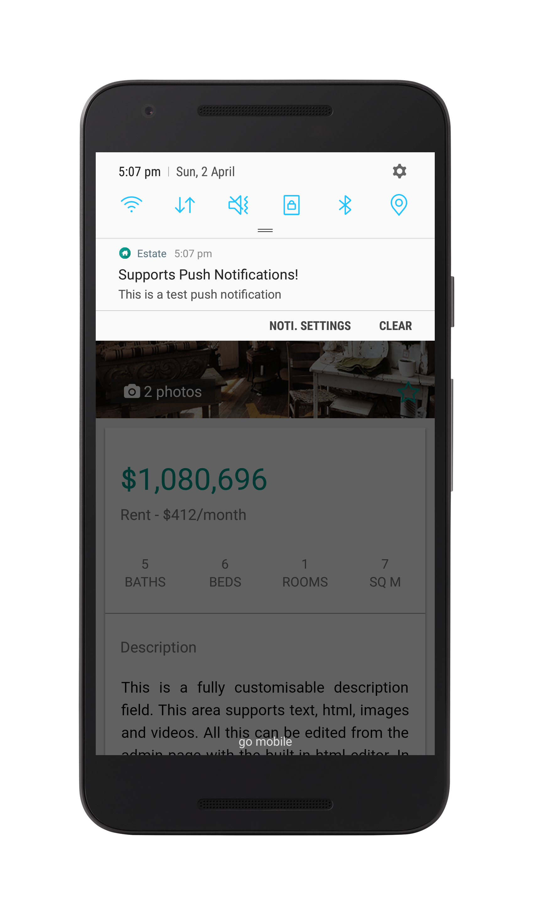 Estate - A Property Real Estate App Template by neurondigital ...