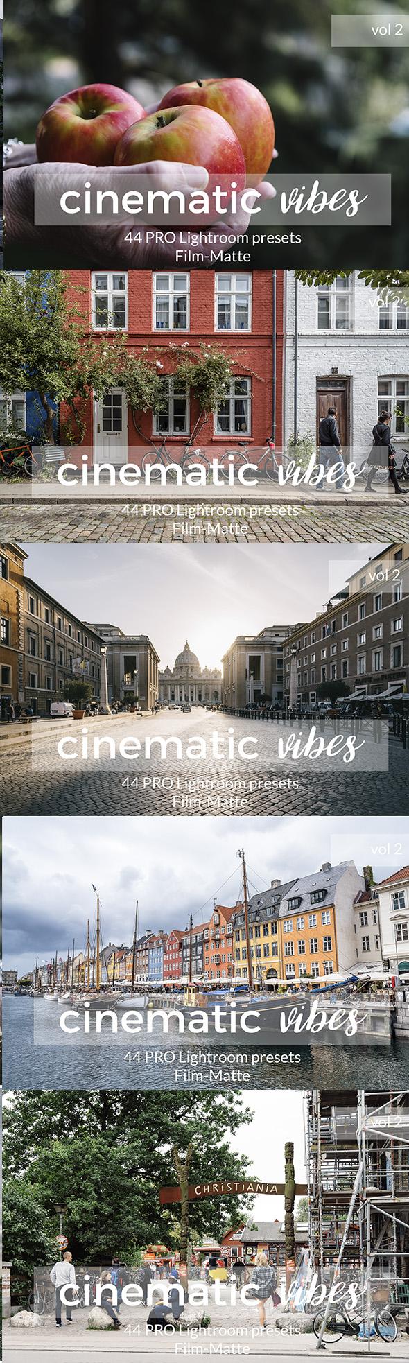 Cinematic Vibes Vol 2 Lightroom Presets - Lightroom Presets Add-ons