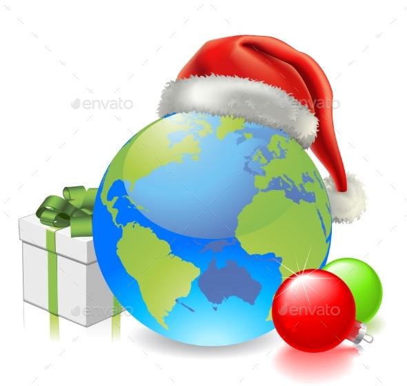 Christmas Globe - Christmas Seasons/Holidays