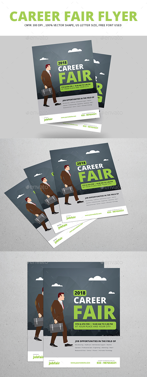 Career Fair Flyer - Commerce Flyers