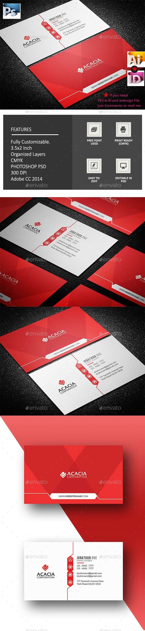 Nrm Business Card - Corporate Business Cards