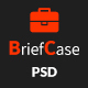 BriefCase-Modern Creative Portfolio PSD Template - ThemeForest Item for Sale