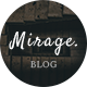 Mirage - Personal Blog PSD Template - ThemeForest Item for Sale