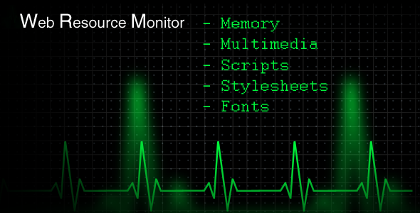 Web Resource Monitor - CodeCanyon Item for Sale