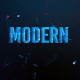 Modern Glitch Teaser V4 - VideoHive Item for Sale