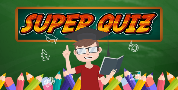 Super Quiz XML - HTML5 Game (Capx) - CodeCanyon Item for Sale