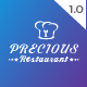 Precious Restaurant Template Nulled