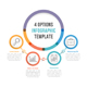 Four Options Infographics - GraphicRiver Item for Sale