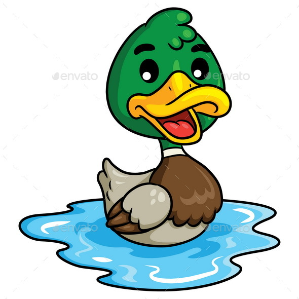 Duck Cartoon - Animals Characters