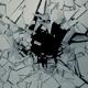 Cracked Surface, 3D Render