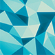 Blue Abstract Low Poly Background - VideoHive Item for Sale
