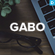 Gabo - Minimalist & Full-Screen WordPress theme
