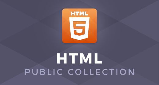 HTML Public Collection by ZEMEZ