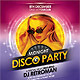 Disco Party Flyer - GraphicRiver Item for Sale