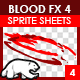 Blood Sprite FX for Games #4 - GraphicRiver Item for Sale