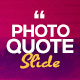 Photo Quote Slide - VideoHive Item for Sale