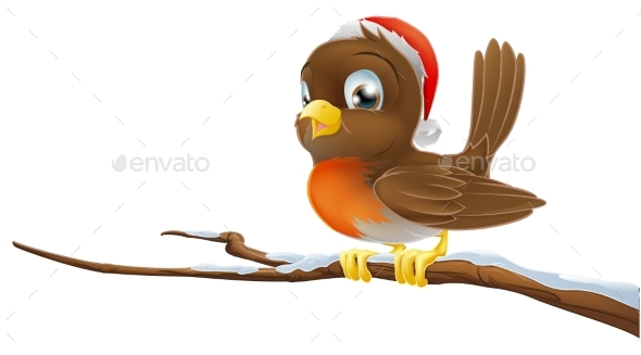 Christmas Robin - Animals Characters