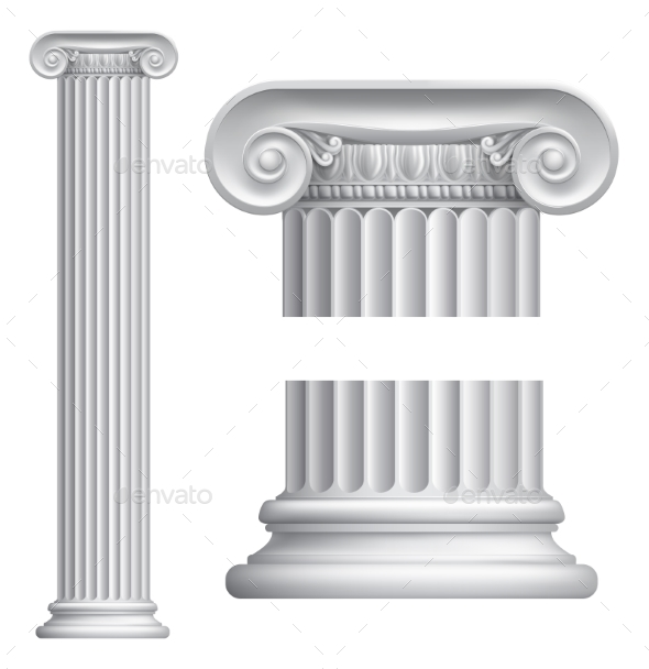 Ionic Column - Buildings Objects