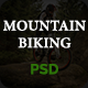 Mountain Biking PSD Template