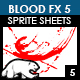 Blood Sprite FX for Games #5 - GraphicRiver Item for Sale