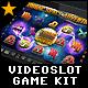 Videoslot Graphics Game Kit - Zodiac Space Adventure - GraphicRiver Item for Sale