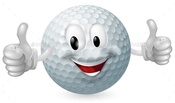 Golf Ball Mascot - Miscellaneous Characters