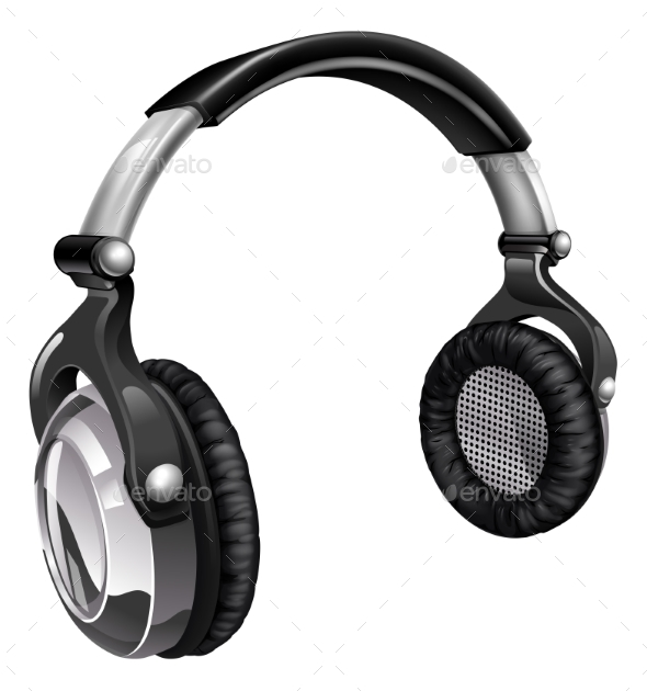 Music Headphones - Man-made Objects Objects