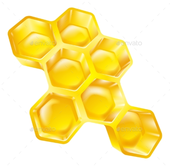 Honeycomb - Food Objects