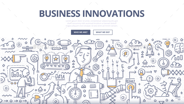 Business Innovations Doodle Concept - Concepts Business