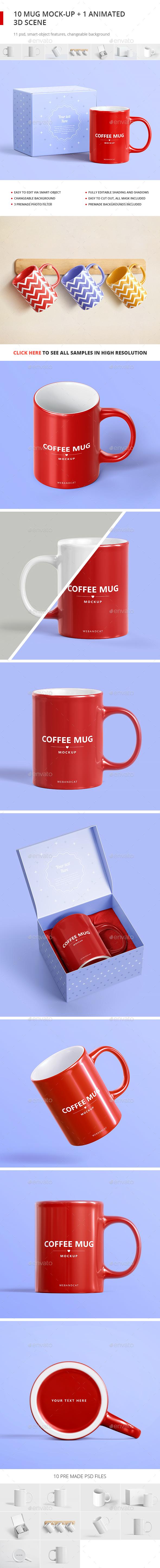 Mug Mockup - Food and Drink Packaging