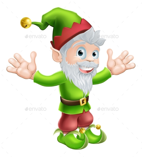 Garden Gnome or Elf - People Characters