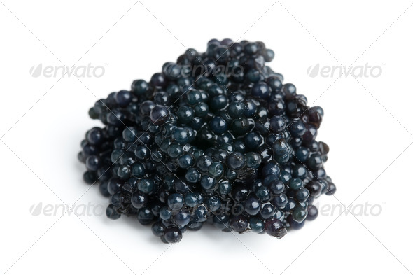 black caviar - Stock Photo - Images