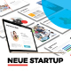 Neue Startup Presentation Template - GraphicRiver Item for Sale