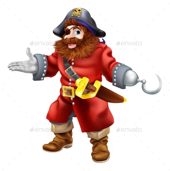Pirate Illustration - Miscellaneous Characters