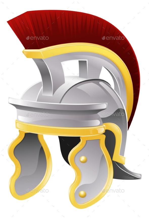 Roman Helmet - Man-made Objects Objects