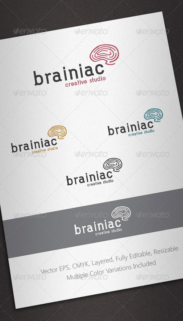 Brainiac Logo Template - Abstract Logo Templates