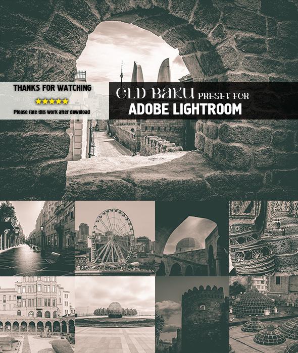 Old Baku - Lightroom Presets Add-ons