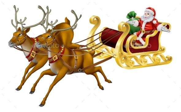Christmas Sled - Christmas Seasons/Holidays