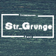 Str_Grunge - Grungy Font - GraphicRiver Item for Sale
