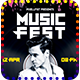 Music Fest Party - GraphicRiver Item for Sale
