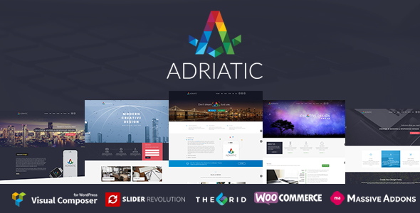 Adriatic | Responsive Multi-Purpose Theme