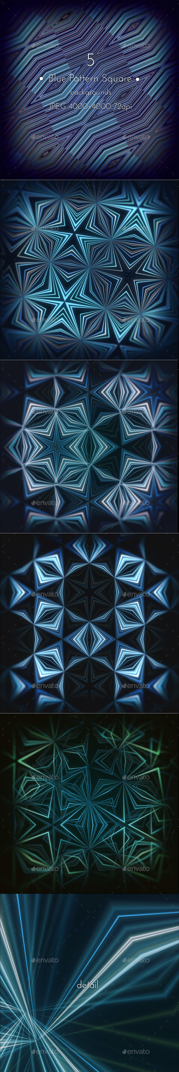 Blue Pattern Background - Patterns Backgrounds