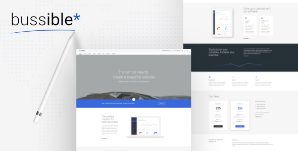Bussible - Soft Material Corporate, Finance, Startup HTML Template